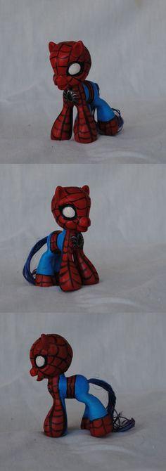 My Little Pony spiderman 2