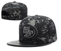 51f5e71bf81 NFL 49ERS Snapback New Era Camo Black Hats 144