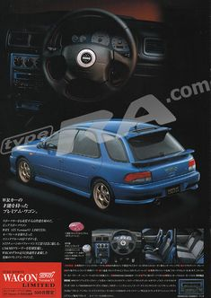 awesome MY900 Impreza WRX Limited Brochure