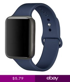 e1d80320535 Sport Silicone Band Strap Bracelet 4 New Apple Watch Midnight Blue Series 4  40mm New Apple