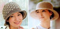 Sombreros de verano a crochet Sombrero A Crochet, Bucket Hat, Unisex, Hats, Fashion, Beret, Crochet Rag Rugs, Sombreros De Playa, Summer Hats