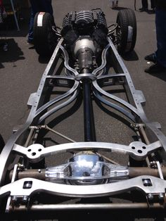 Coyote power / TCI 6x trans - Image Street Rods fabbed up the TCI chassis into a work of art