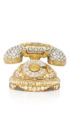 Rotary Phone Clutch by JUDITH LEIBER COUTURE for Preorder on Moda Operandi