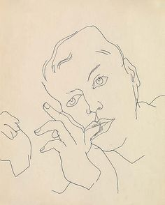 andy warhol boy line drawings - Google Search