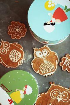 En los países nórdicos hay una larga tradición de preparar galletas de jengibre para las Navidades. También se puede preparar casas enteras con la massa pero lo