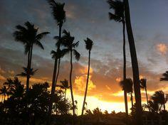 Sunset over Punta Cana