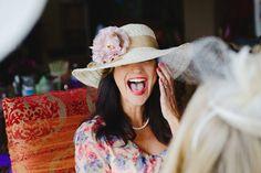 Tea Party Bridal Shower:  Hats Please