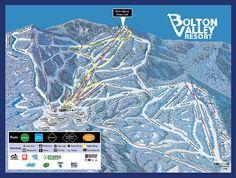 Bolton Valley, VT - fun night riding close to Burlington