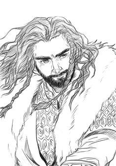 Thorin Oakenshield by ~tubekoma on deviantART