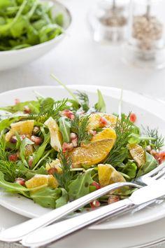 Ensalada gourmet con frutas