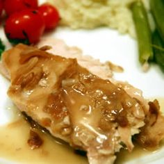 Quick and easy way to cook turkey in the slow cooker. With only two ingredients, the only hard part is waiting.