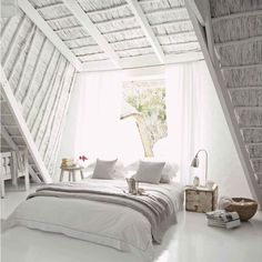 The latest tips and news on living-room are on house of anaïs. On house of anaïs you will find everything you need on living-room. All White Bedroom, White Rooms, Dream Bedroom, Home Bedroom, Bedroom Decor, Light Bedroom, Bedroom Ideas, Master Bedroom, Design Bedroom