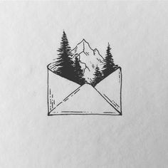 P I N T E R E S T : ☻ ⠀⠀⠀⠀⠀⠀⠀⠀⠀⠀⠀⠀⠀⠀⠀⠀⠀places + adventure + wanderlust + travel + camping + photography + home + house + hiking + mountain + art + drawing + sketches + doodles Cool Art Drawings, Pencil Art Drawings, Art Drawings Sketches, Ink Illustrations, Doodle Drawings, Easy Drawings, Doodle Art, Tattoo Drawings, Hipster Drawings