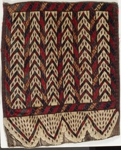 Ok Bash Turkmenistan or Uzbekistan, Chodor tribe, early 19th century (or earlier) Textiles