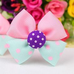 2016 New Cute Children Headdress Girls Tie Hair Ropes Headwear Bowknot Baby Hair Accessories Ponytail Holder Elastic Hair Bands How To Make Bubbles, How To Make Bows, Elastic Hair Bands, Bow Hair Clips, Cindy Girl, Elephant Template, Hair Bow Tutorial, Baby Hair Accessories, Cool Gifts For Kids