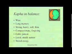 Introduction to Ayurveda by Dr. Deb Kern (Vata balancing minute 42 onwards!)