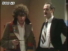 Two of my favorites from the 70's, Doctor Who and John Cleese.