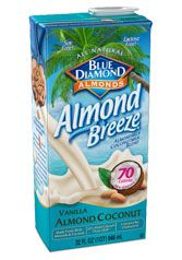 Almond Breeze : Almond milk Coconut milk Blend with vanilla