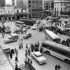 Omonia square 1955 Πλατεια Ομονοιας 1955
