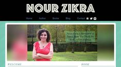 And my new website is finally live! www.nourzikra.com #author #website #authorwebsite #writer #blog #blogger
