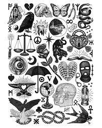 Resultado de imagem para traditional tattoo flash