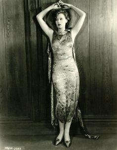 Greta Garbo, 1920's.....Uploaded By  www.1stand2ndtimearound.etsy.com