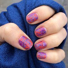 La Florita.  Jamberry wraps | nail art | manicure | Spring Summer Catalog 2015