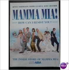 ABBA - Mamma Mia! How Can I Resist You? Soft Back Book