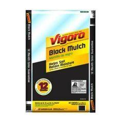 $ 2.97 Vigoro 2 cu. ft. Black Mulch-670-1000 - The Home Depot