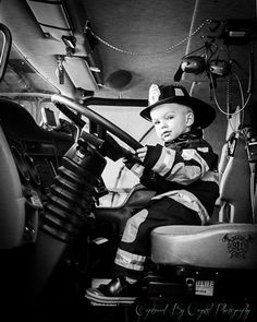 American Firefighter Outfitters is an American clothing and fashion accessories company. Firefighter Family, Firefighter Pictures, Volunteer Firefighter, Firefighters Wife, Female Firefighter, Birthday Pictures, Baby Pictures, Baby Photos, Fireman Party