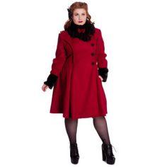 Elegantes abrigos rojos 3