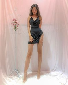 Korean Fashion Dress, Ulzzang Fashion, Kpop Fashion Outfits, Girls Fashion Clothes, Edgy Outfits, Cute Casual Outfits, Pretty Outfits, Pretty Dresses, Girl Outfits