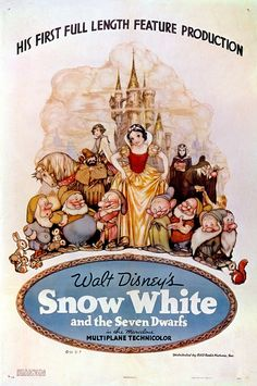 #SnowWhite and the Seven Dwarfs Theatrical Poster