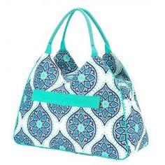 Monogrammed Beach Bag (Color: Boho)