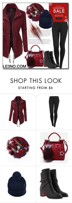 """""""LE3NO Clothing XXVII"""" by esma178 ❤ liked on Polyvore featuring LE3NO, Christian Louboutin, le3no and le3noclothing"""