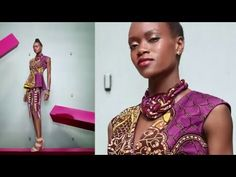 DIY STATEMENT NECKLACE - VLISCO WOVEN WISDOM COLLECTION - YouTube