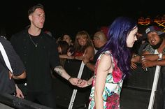 """Robert Ackroyd (Dated Spring 2012)  Unlike the Baptiste Giabiconi rumors, there was some truth to the chatter that Perry dated Florence + The Machine guitarist Robert Ackroyd during the first half of 2012. Although she said to USA Today in July 2012 that it was """"not even appropriate to label"""" the pair as a couple, Perry said, """"There are times I go out and meet people and flirt, but it's not really appropriate to have anything serious."""""""