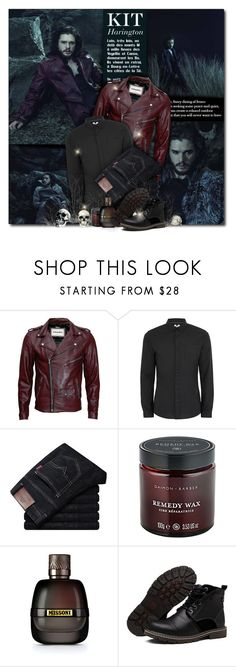 """""""Kit Harington for Italian Vogue"""" by beograd-love ❤ liked on Polyvore featuring Topman, Missoni, men's fashion and menswear"""