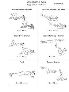 6 Exercises to Improve Your 6 Pack {The Pirate Mama}