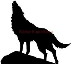 Maybe paper mache a wolf Wolf Stencil, Animal Stencil, Stencil Art, Stencils, Wolf Silhouette, Silhouette Clip Art, Removable Wall Stickers, Stencil Patterns, Wolf Tattoos