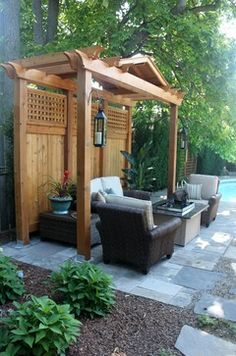 Ideas For Backyard Privacy hot tub landscaping privacy backyard hot tub landscaping ideas Find This Pin And More On Backyard Ideas