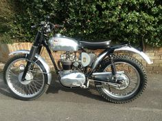 1960 BSA C15T classic trials motorcycle