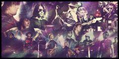 Imágenes de los cuatro músicos de Bon Jovi #BonJovi #Rock