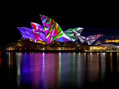 Watch the Sydney Opera House light up  What does it take to cover the iconic Sydney Opera House in large-scale projections every night?