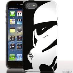 0e9f22885d94 Étui de portable iPhone SE Stormtrooper.  coquetelephone  Apple  SE   Stormtrooper