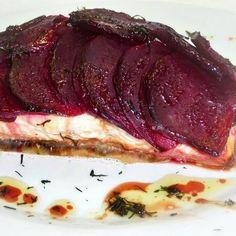 Lazacszelet kapros céklával Recept képpel - Mindmegette.hu - Receptek Steak, Pork, Dishes, Kale Stir Fry, Tablewares, Steaks, Pork Chops, Dish, Signs