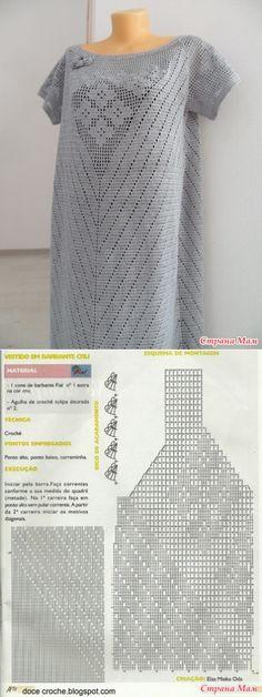 Жемчужное платье в пол - Вязание - Страна Мам
