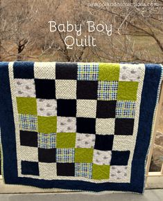baby boy flannel qui