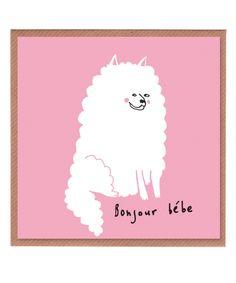 Lazy Oaf Bonjour Bebe Card