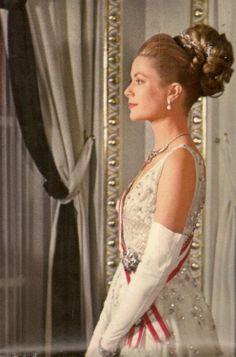 Princess Grace of Monaco. Portrait by Howell Conant. November 19, 1962.